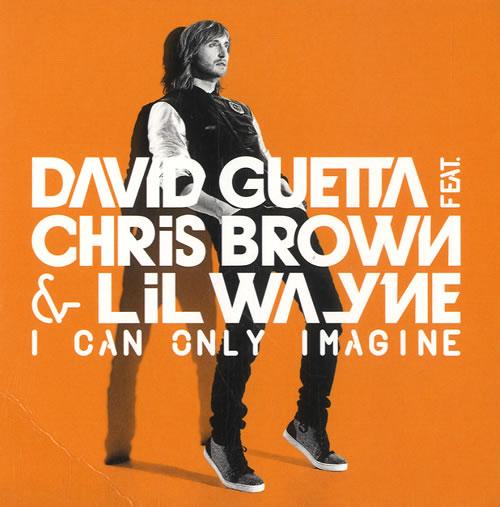 "David Guetta I Can Only Imagine CD single (CD5 / 5"") UK DVUC5IC566857"