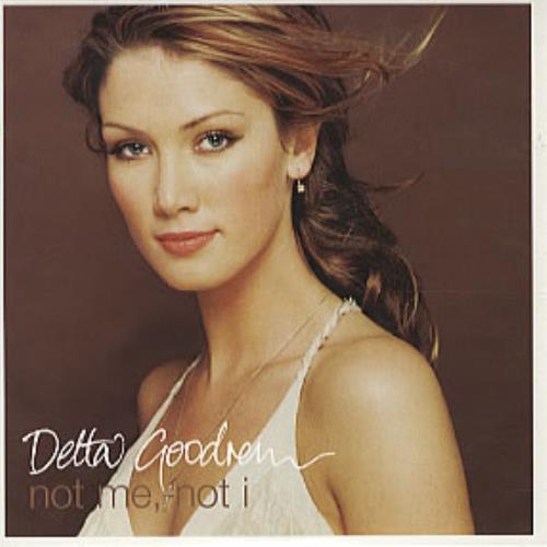 """Delta Goodrem Not Me, Not I CD single (CD5 / 5"""") UK DAGC5NO263056"""