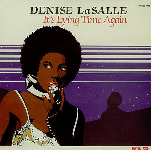 Denise LaSalle It's Lying Time Again vinyl LP album (LP record) US LS2LPIT408768