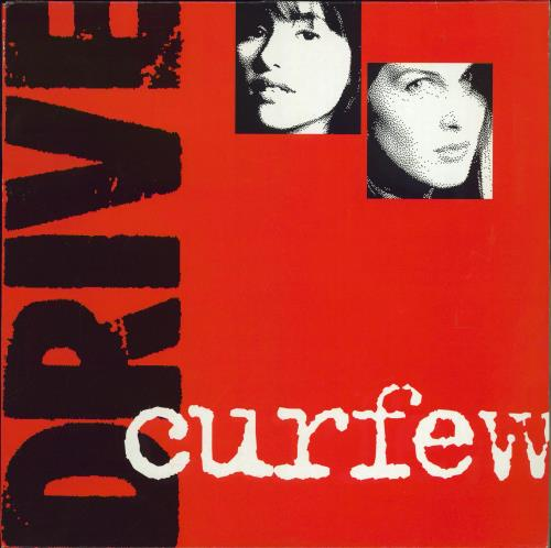 "Drive (pre-All Saints) Curfew 12"" vinyl single (12 inch record / Maxi-single) UK DRV12CU120795"