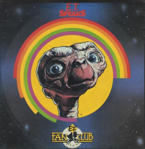 "E.T. E.T. Speaks: Conversations From The Movie With E.T. And His 7"" vinyl single (7 inch record) US E.T07ET401214"