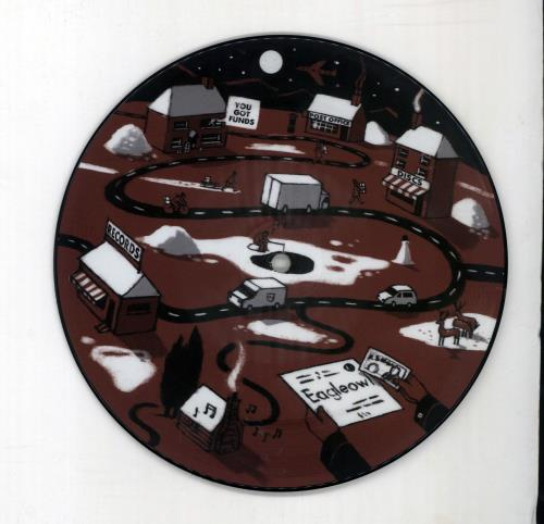 """Eagleowl Clean The Night 7"""" vinyl picture disc 7 inch picture disc single UK O5G7PCL680784"""