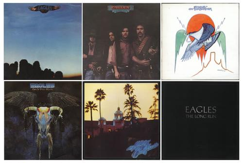 Eagles 1972-1979 Studio Albums Vinyl Box Set UK EAGVXST591230