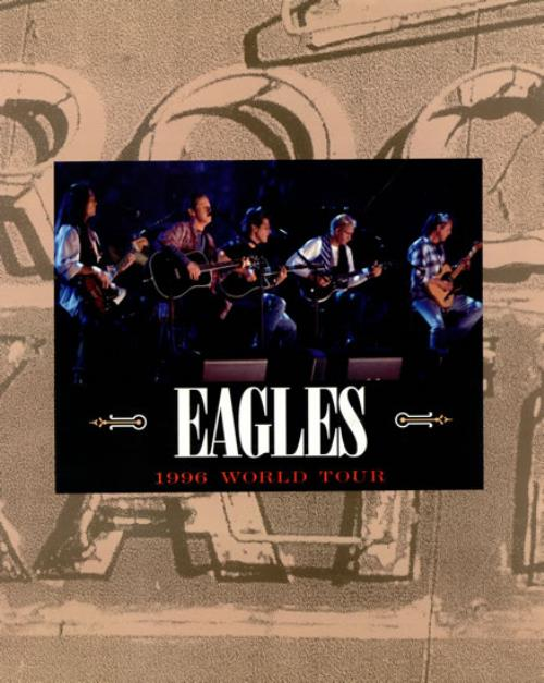 Eagles 1996 World Tour + Ticket Stub tour programme UK EAGTRWO485307
