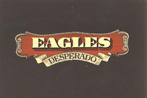 Eagles Desperado handbill UK EAGHBDE340221