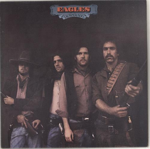Eagles Desperado vinyl LP album (LP record) US EAGLPDE706926