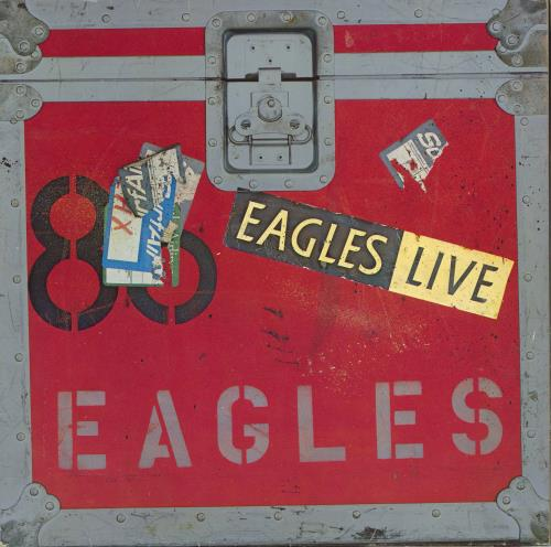 Eagles Eagles Live + Poster - Ex 2-LP vinyl record set (Double Album) German EAG2LEA774668