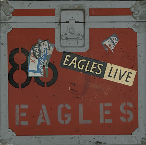Eagles Eagles Live + Poster 2-LP vinyl record set (Double Album) German EAG2LEA582669