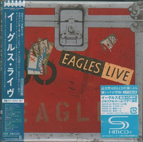 Eagles Eagles Live SHM CD Japanese EAGHMEA649536