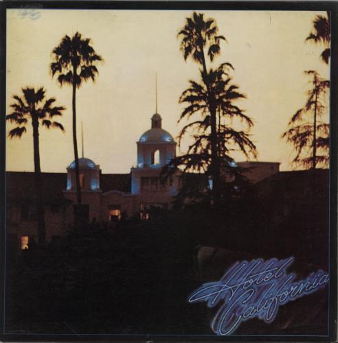 Eagles Hotel California + Poster - VG vinyl LP album (LP record) UK EAGLPHO399065