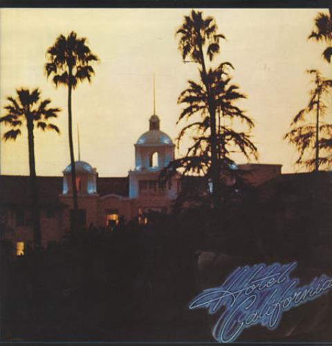 Eagles Hotel California vinyl LP album (LP record) UK EAGLPHO342526
