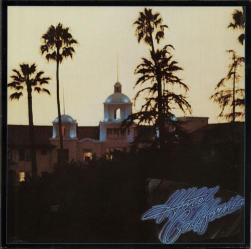 Eagles Hotel California vinyl LP album (LP record) German EAGLPHO598637