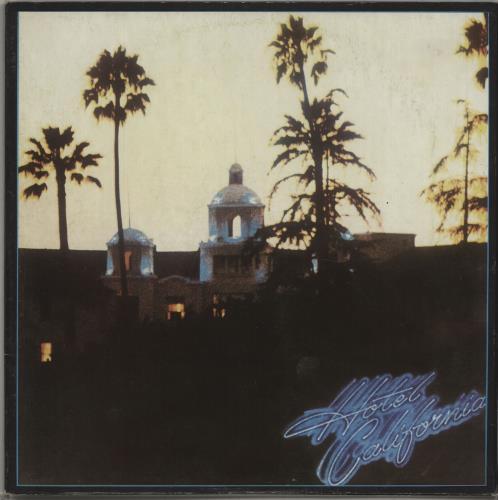 Eagles Hotel California vinyl LP album (LP record) Portugese EAGLPHO673842