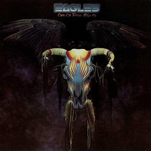 Eagles One Of These Nights - 1st vinyl LP album (LP record) UK EAGLPON495161