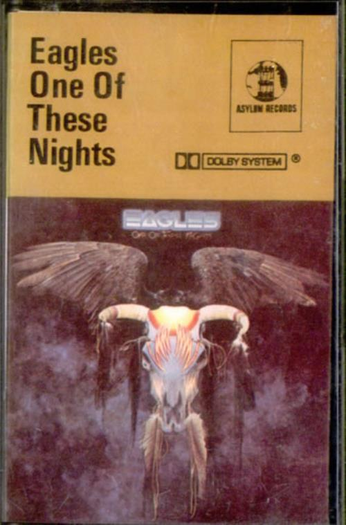 Eagles One Of These Nights cassette album UK EAGCLON525427