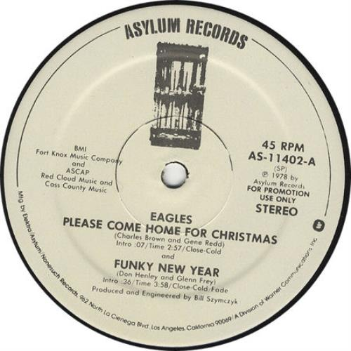 Please Come Home For Christmas Eagles.Eagles Please Come Home For Christmas Us Promo 12 Vinyl