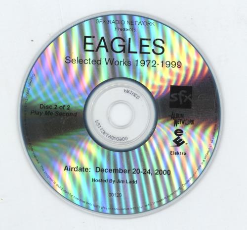 Eagles Selected Works 1972-1999 CD-R acetate US EAGCRSE175907
