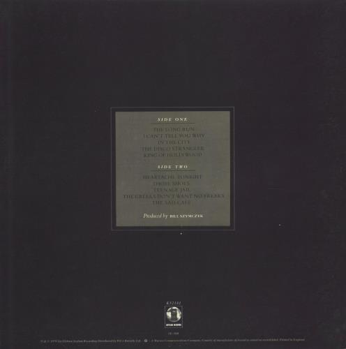 Eagles The Long Run vinyl LP album (LP record) UK EAGLPTH764226