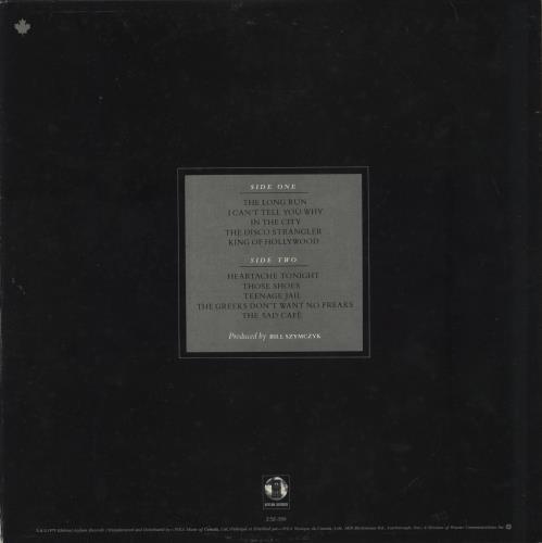 Eagles The Long Run vinyl LP album (LP record) Canadian EAGLPTH773426