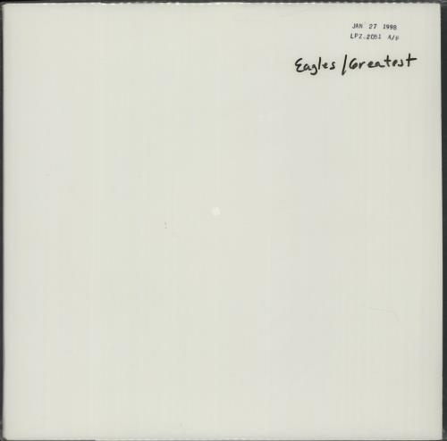 Eagles Their Greatest Hits - DCC - Test Pressing - Sealed vinyl LP album (LP record) US EAGLPTH670374