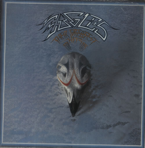Eagles Their Greatest Hits 1971 - 1975 vinyl LP album (LP record) Italian EAGLPTH592429