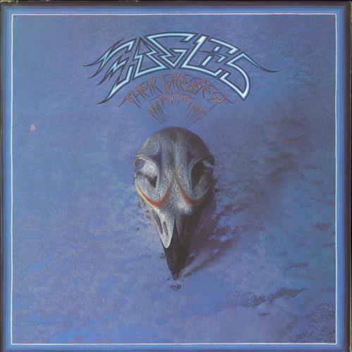 Eagles Their Greatest Hits 1971-1975 - Green vinyl LP album (LP record) UK EAGLPTH770219