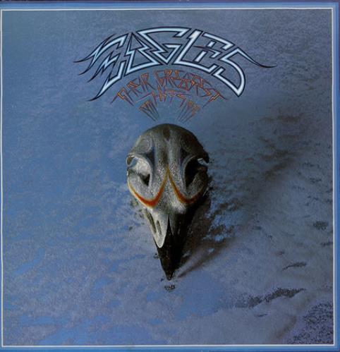 Eagles Their Greatest Hits 1971-1975 vinyl LP album (LP record) German EAGLPTH360026