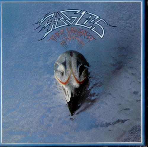 Eagles Their Greatest Hits 1971-1975 vinyl LP album (LP record) US EAGLPTH543984
