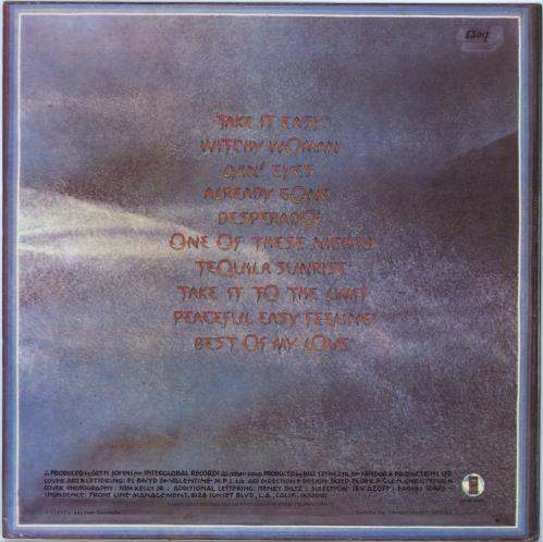 Eagles Their Greatest Hits 1971-1975 vinyl LP album (LP record) Portugese EAGLPTH774072