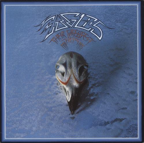 Eagles Their Greatest Hits: Volumes 1 & 2 2-LP vinyl record set (Double Album) UK EAG2LTH773750
