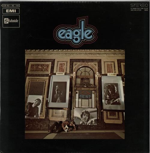 Eagle Come Under Nancy's Tent vinyl LP album (LP record) French H5YLPCO640049