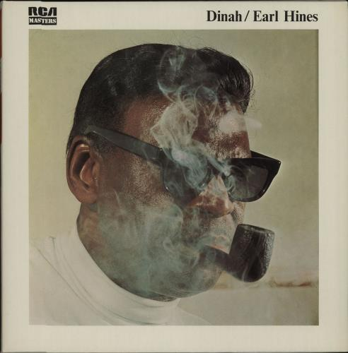 Earl Hines Dinah vinyl LP album (LP record) French ER1LPDI668247