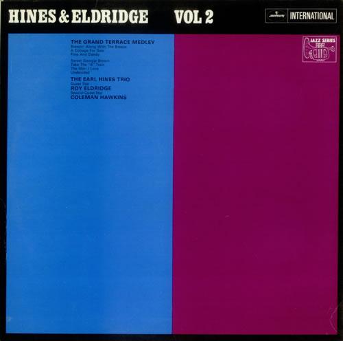 Earl Hines Hines & Eldridge Vol 2 vinyl LP album (LP record) UK ER1LPHI541378