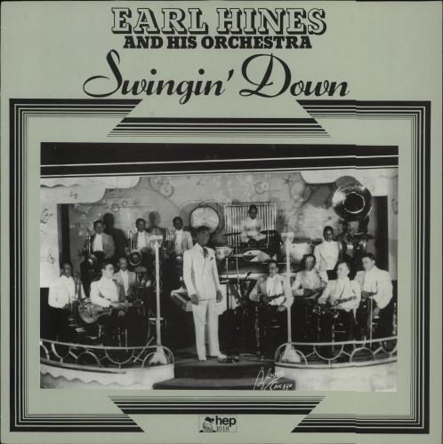 Earl Hines Swingin' Down vinyl LP album (LP record) UK ER1LPSW672738