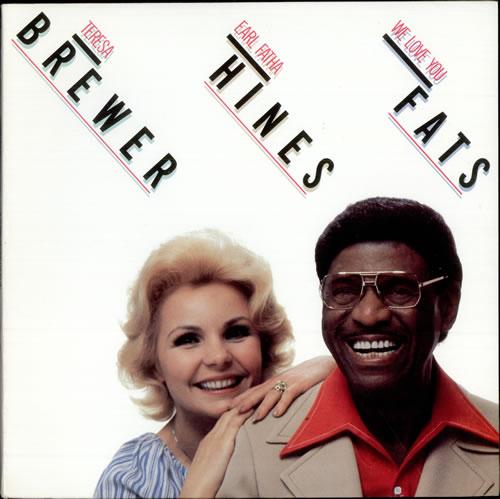 Earl Hines We Love You Fats vinyl LP album (LP record) US ER1LPWE500493