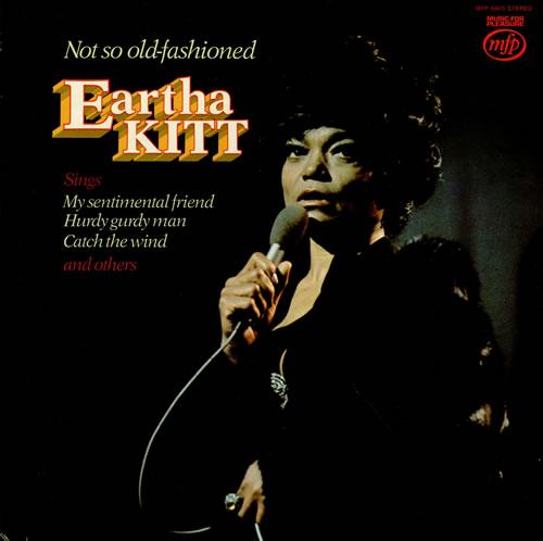 Eartha Kitt Not So Old-Fashioned vinyl LP album (LP record) UK ERKLPNO458572