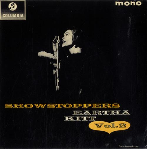 """Eartha Kitt Show Stoppers Vol. 2 7"""" vinyl single (7 inch record) UK ERK07SH604233"""