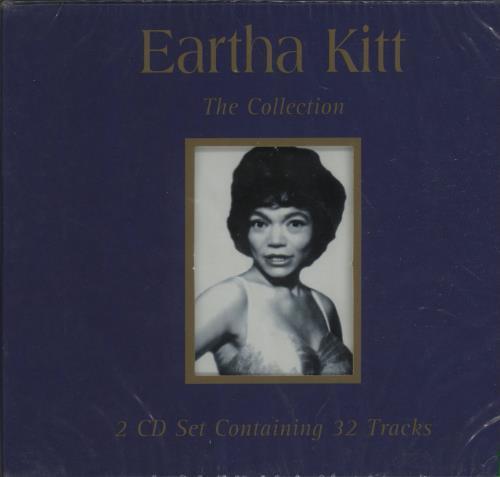 Eartha Kitt The Collection 2 CD album set (Double CD) UK ERK2CTH673833