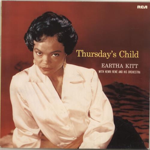 Eartha Kitt Thursday's Child vinyl LP album (LP record) German ERKLPTH696725