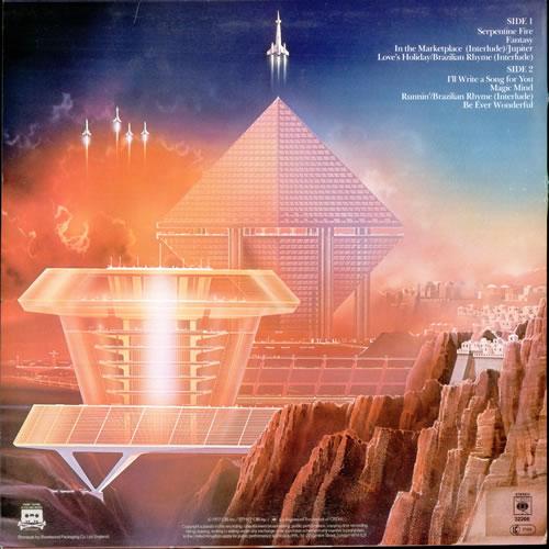 Earth Wind Amp Fire All N All Uk Vinyl Lp Album Lp Record