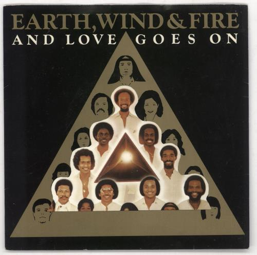 "Earth Wind & Fire And Love Goes On 7"" vinyl single (7 inch record) UK EWF07AN731259"