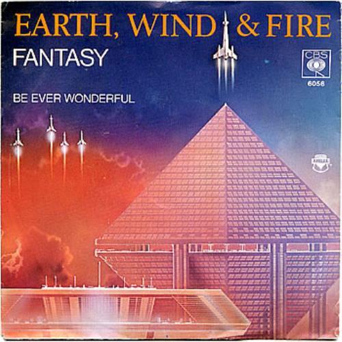"""Earth Wind & Fire Fantasy 7"""" vinyl single (7 inch record) Dutch EWF07FA301888"""