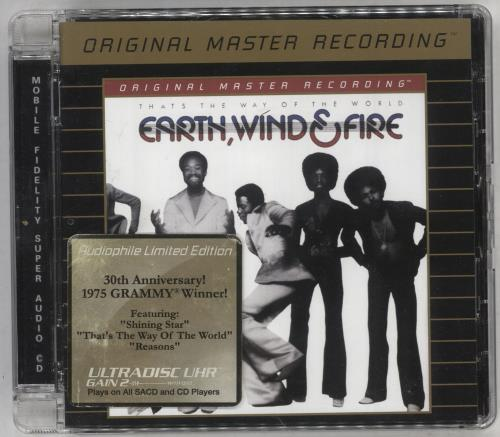 Earth Wind & Fire That's The Way Of The World super audio CD SACD US EWFSATH748422