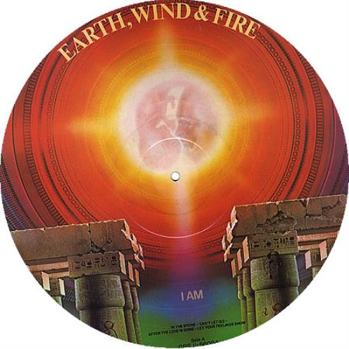 Earth Wind Amp Fire I Am Uk Picture Disc Lp Vinyl Picture