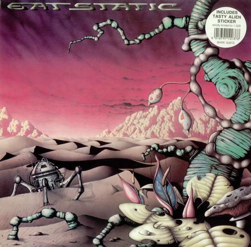"Eat Static Epsylon EP - Double pack + sticker 12"" vinyl single (12 inch record / Maxi-single) UK ETS12EP316435"