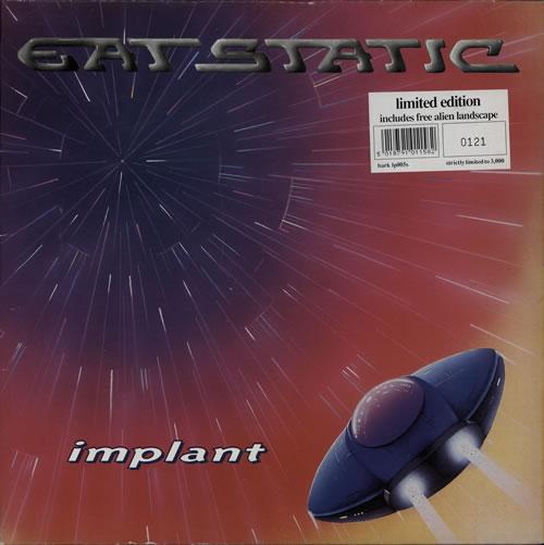 Eat Static Implant 2-LP vinyl record set (Double Album) UK ETS2LIM577782