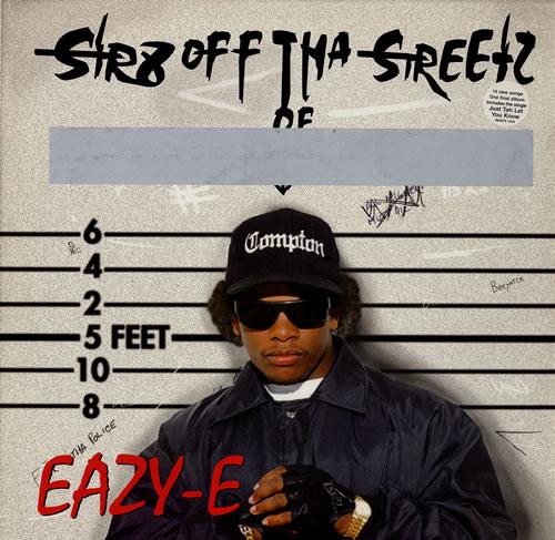 Eazy-E Str8 Off Tha Streetz Of Muthaphukkin Compton vinyl LP album (LP record) Dutch EZ-LPST554974