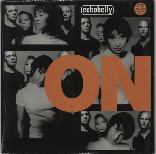"Echobelly On + 7"" - Sealed vinyl LP album (LP record) UK ECBLPON753058"