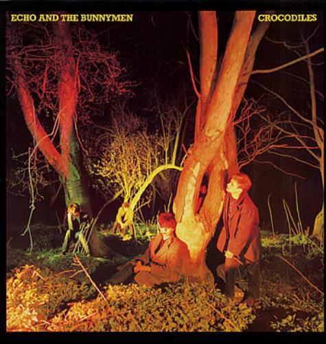 Echo & The Bunnymen Crocodiles vinyl LP album (LP record) Japanese ECHLPCR173374