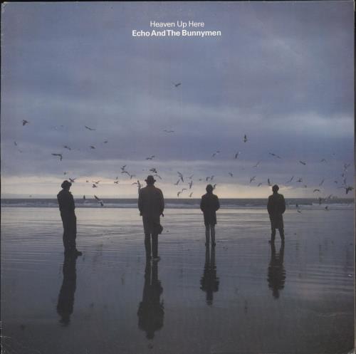 Echo & The Bunnymen Heaven Up Here - EX vinyl LP album (LP record) UK ECHLPHE501024